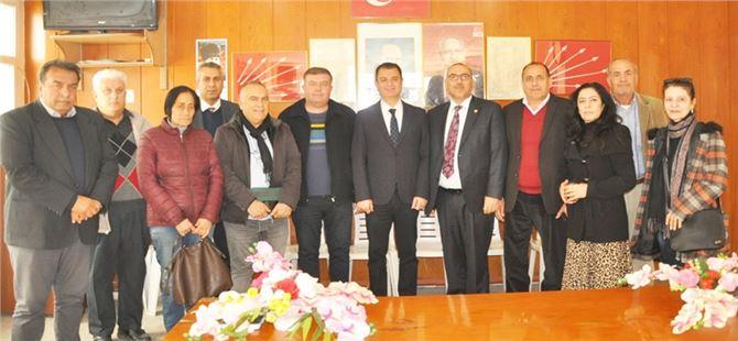 Tarsus Şoförler Odası Başkanı Duran Şen ve Yönetimi,