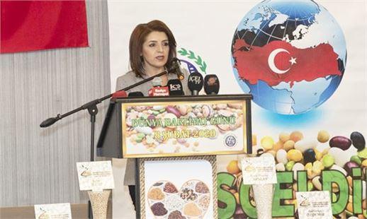 """Büyükşehir Belediye Başkan Vekili Gülcan Kış, """"Dünya Bakliyat Günü"""" Etkinliğine Katıldı"""