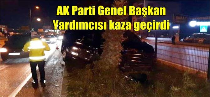 AKP'li Mehmet Özhaseki ve eski başkanlar kaza geçirdi