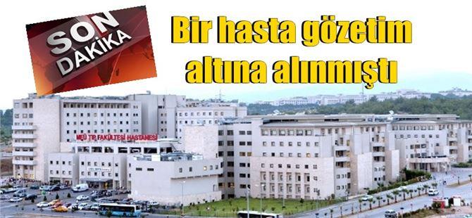 Mersin Üniversitesi Hastanesi'nden koronavirüs açıklaması