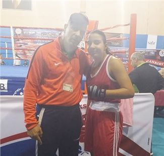 Tarsuslu Özlem Sude, boks şampiyonasında Türkiye 3.sü oldu