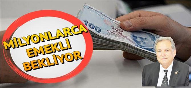 TÜED Tarsus Şube Başkanı Ömer Kurnaz'dan emeklilere uyarı!
