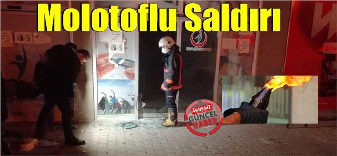 Tarsus'ta göçmen sağlığı merkezine molotoflu saldırı
