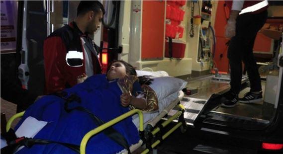 6 yaşındaki kız çocuğu maganda kurşunuyla vuruldu