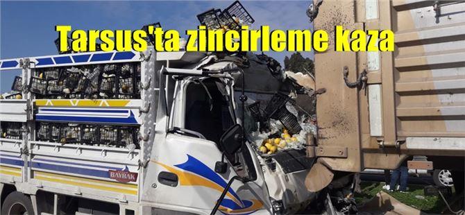 Tarsus'ta trafik kazasında 2 kişi yaralandı