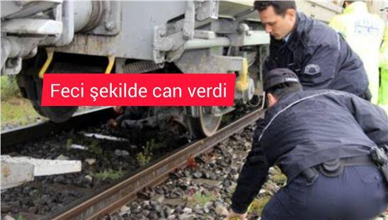 Tarsus'ta bir şahıs trenin önüne atlayarak yaşamına son verdi