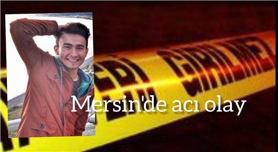 Mersin'de 22 yaşındaki genç intihar etti