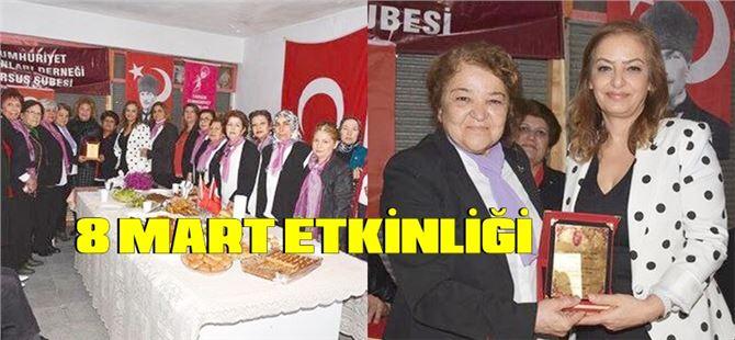 Cumhuriyet Kadınları'ndan 8 Mart Etkinliği