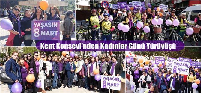 Tarsus Kent Konseyi'nden Kadınlar Günü yürüyüşü
