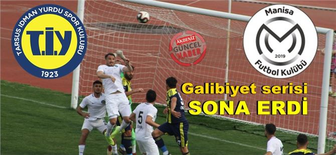 Tarsus İdman Yurdu 1-Manisa Futbol Kulübü 2