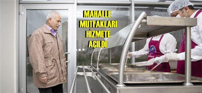 Mersin Büyükşehir'den, vatandaşa hijyenik koşullarda 3 TL'ye 3 çeşit yemek