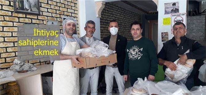 Tarsus'ta pideci kardeşler ihtiyaç sahibi 100 kişiye ekmek gönderiyor