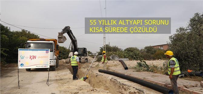 MESKİ, Kürkçü Mahallesi'nin 55 yıllık altyapı sorununu çözdü