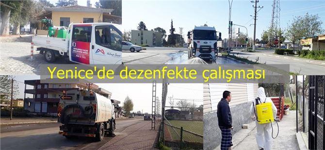 Büyükşehir'den Yenice'de de dezenfekte ve ilaçlama çalışması