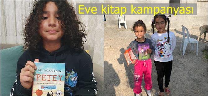 """Tarsus CHP'den zor günlerde çocuklar için """"eve kitap kampanyası"""""""