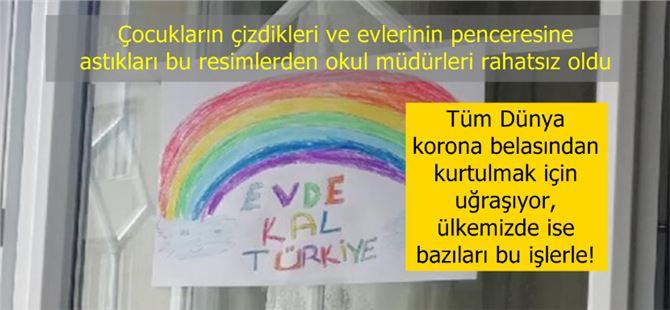 """Eğitim-Sen Tarsus Şubesi """"Okul müdürlerinden, çocukların gökkuşağına saldırı"""""""