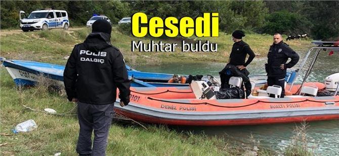 Göl içinde erkek cesedi bulundu