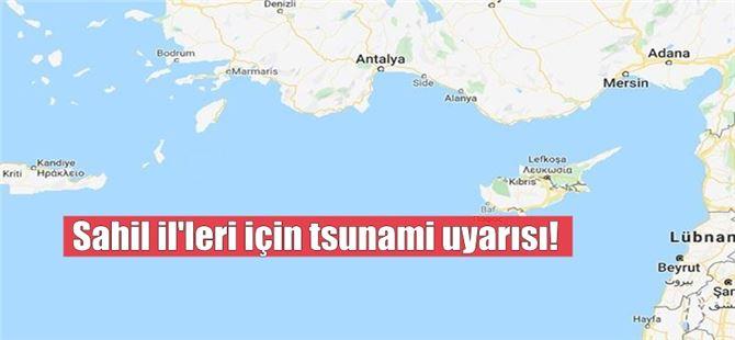 """Yüklü, """"Akdeniz'de 7'inin üzerinde deprem bekliyoruz"""""""