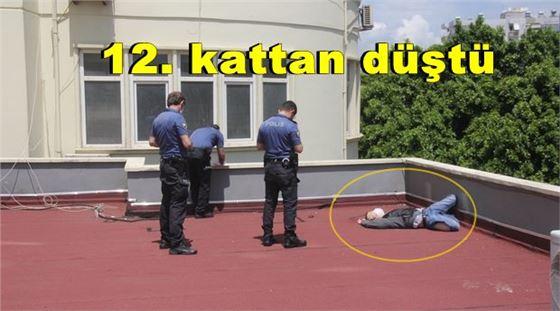 12. kattan düşen genç yaşamını yitirdi