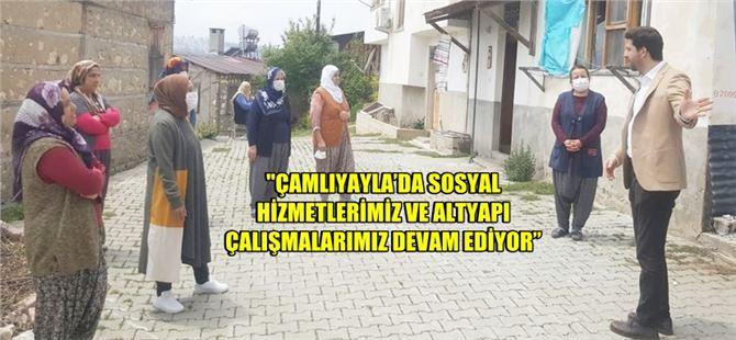 Ali Boltaç, Çamlıyayla'da ziyaretlerde bulundu