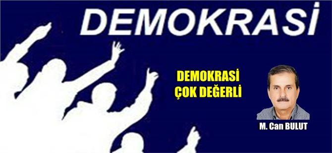 """M. Can Bulut yazdı, """"Demokrasi çok değerli"""