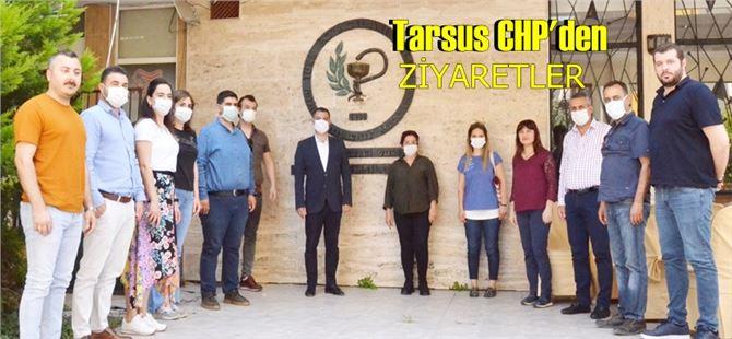 Tarsus CHP'den Çiftçiler ve Eczacılara ziyaret