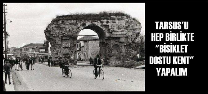 """Tarsus Kent Konseyi'nden """"bisiklet kullanalım"""" çağrısı"""