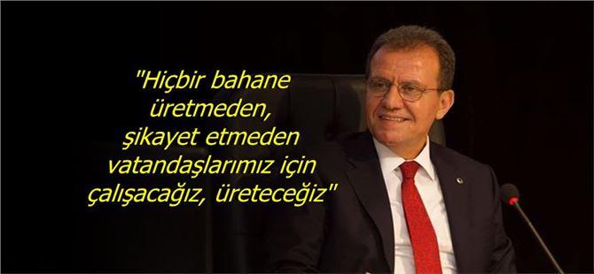 """Başkan Seçer'den """"ret oylarının"""" ardından ilk açıklama"""