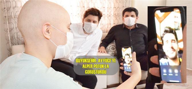 Ağır hastalıklarla mücadele eden Ayyüce'ye, Büyükşehir'den 19 Mayıs Sürprizi