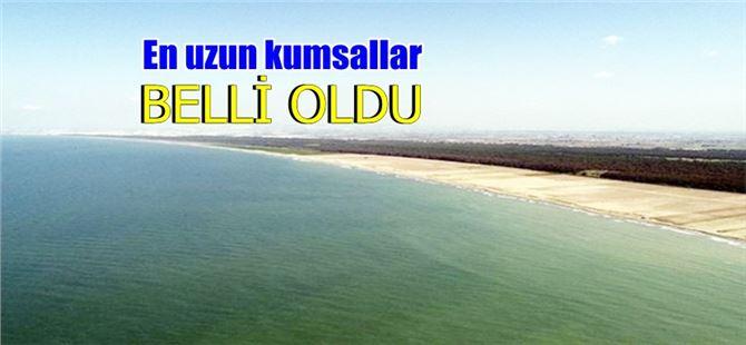 Türkiye'nin en uzun kumsalı Seyhan-Tarsus arası