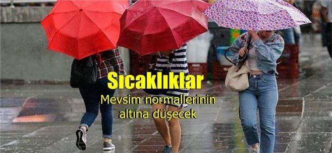 Balkanlar üzerinden yağışlı hava geliyor; sıcaklık düşecek