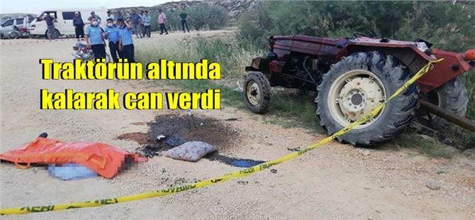 Mersin'de iki traktör kazası: 1 ölü, 2 yaralı