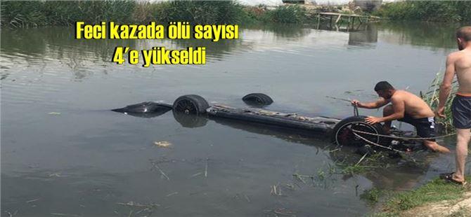 Mersin'deki feci kazada ölü sayısı 4'e yükseldi