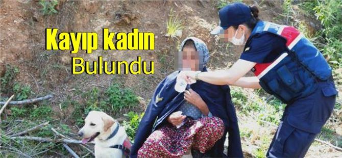 Mersin'de kayıp kadın Jandarma ekiplerince bulundu