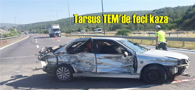 Tarsus'taki feci kazada yaralanan 3 yaşındaki çocuk yaşamını yitirdi