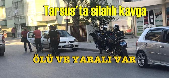 Tarsus'ta silahlı çatışmada seken kurşun kadını öldürdü