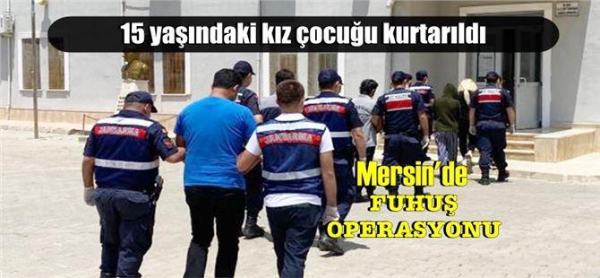 Mersin'de fuhuş operasyonu, tutuklamalar var