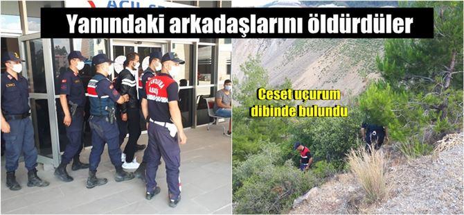 Antalya-Mersin hattında işlenen cinayeti Jandarma çözdü