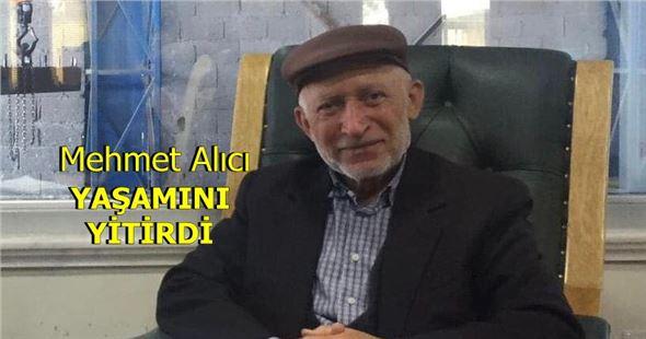 Tarsuslu hayırsever işadamı Mehmet Alıcı, yaşamını yitirdi