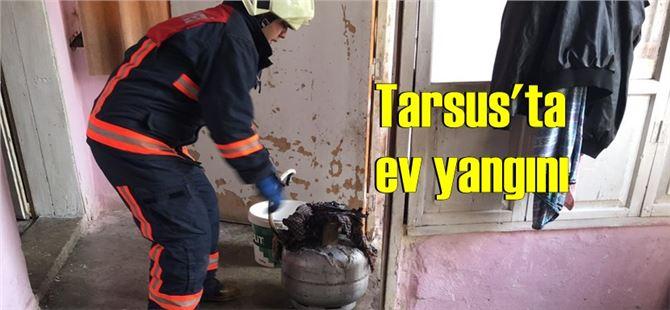 Tarsus'ta parlayan mutfak tüpü korku yarattı