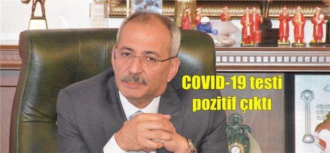 Tarsus Belediye Başkanı Haluk Bozdoğan'ın COVID-19 testi pozitif çıktı