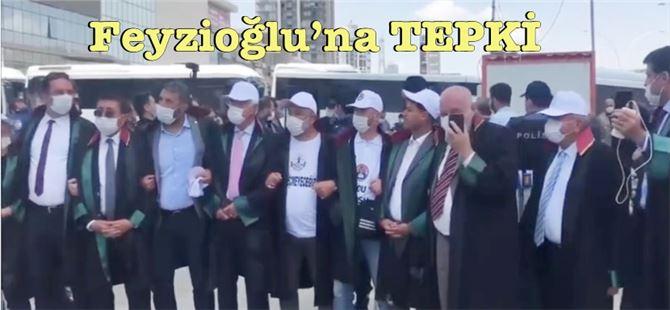 Baro başkanları Metin Feyzioğlu'nu alana almadı