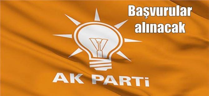 Tarsus Ak Parti'de yeni yönetim kurulu listesi oluşturuluyor