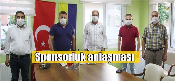 Tarsus İdmanyurdu ile TESKİ arasında sponsorluk anlaşması