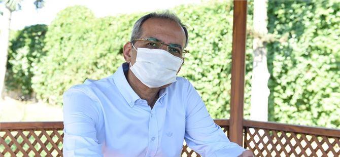 """Korona virüsü yenen Başkan Bozdoğan , """"Şu an kendimi çok iyi hissediyorum"""""""