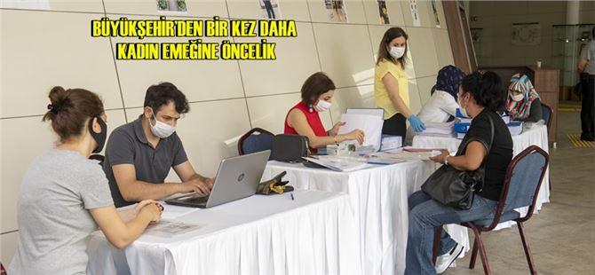 Mersin Büyükşehir, 121 kadın personel daha istihdam etti
