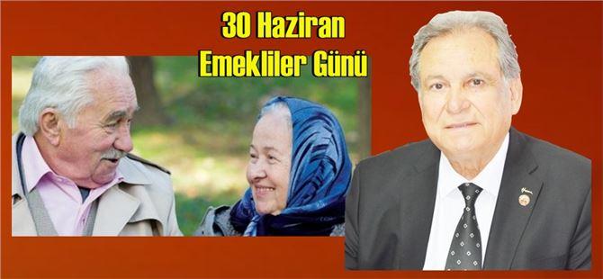 """Başkan Kurnaz: """"Emeklilik; devletin güvencesinde olan kutsal bir hak"""""""