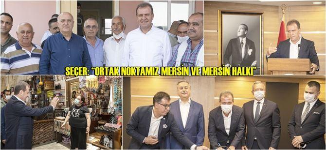 Başkan Seçer, Tarsus OSB alanındaki incelemeye katıldı