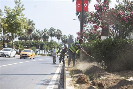 Mersin Büyükşehir'den 150 kilometrelik otomatik sulama sistemi