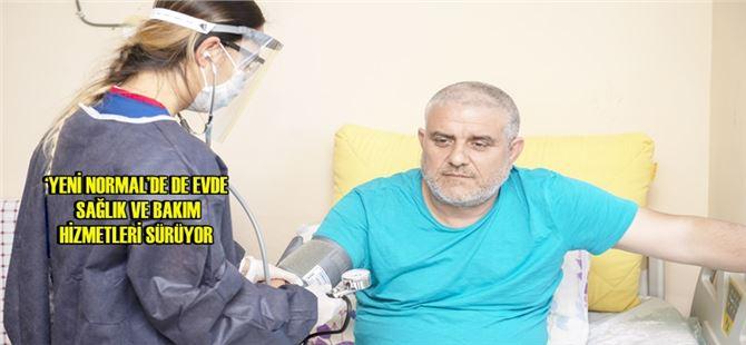 Büyükşehir, salgın sürecinde 1137 hastaya 7 bin 127 kez sağlık hizmeti verdi